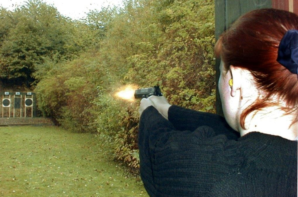 Træning pistol