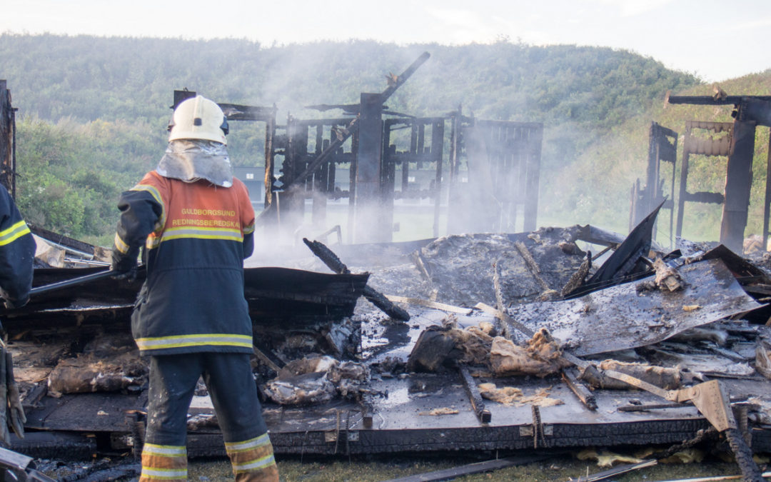 Information efter branden. Se nyt